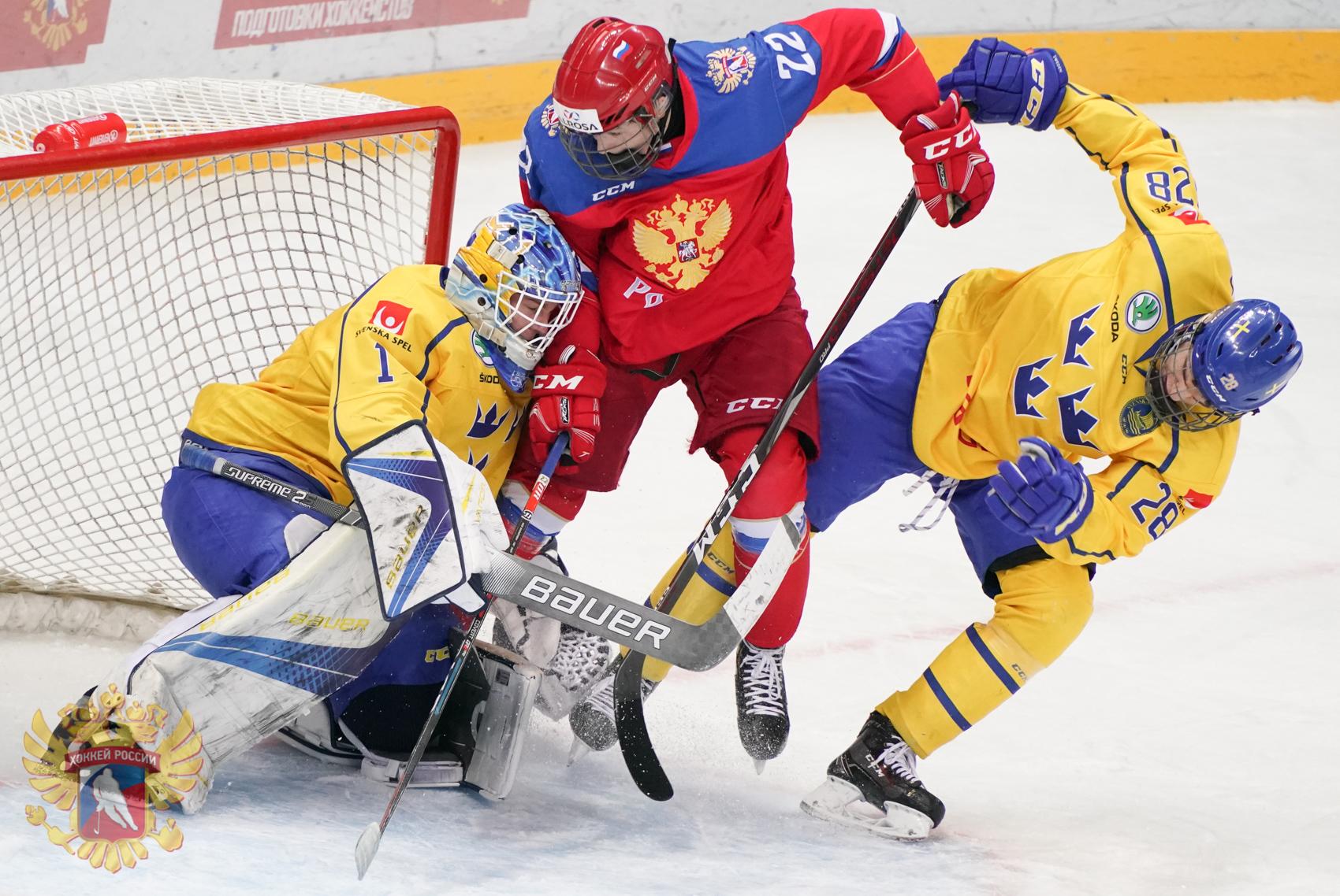 хоккей россия швеция видео поправили