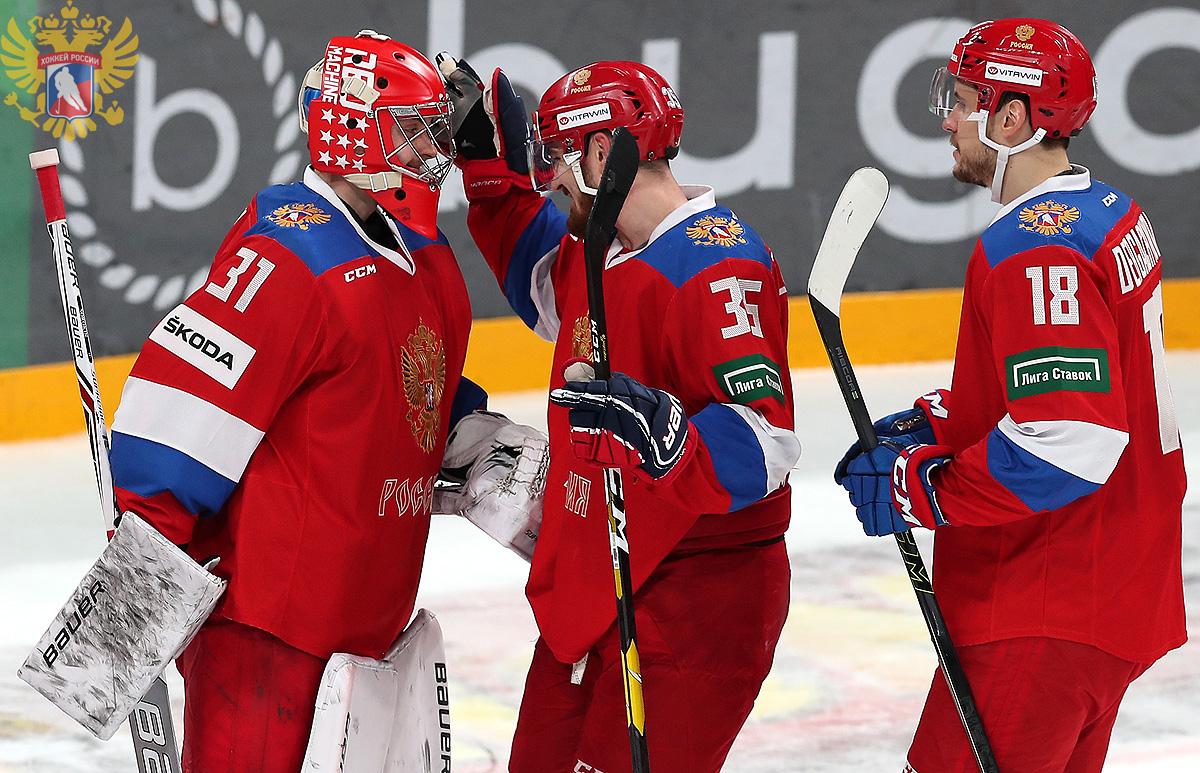 Россия обыграла Швецию на «Кубке Карьяла» (Видео)
