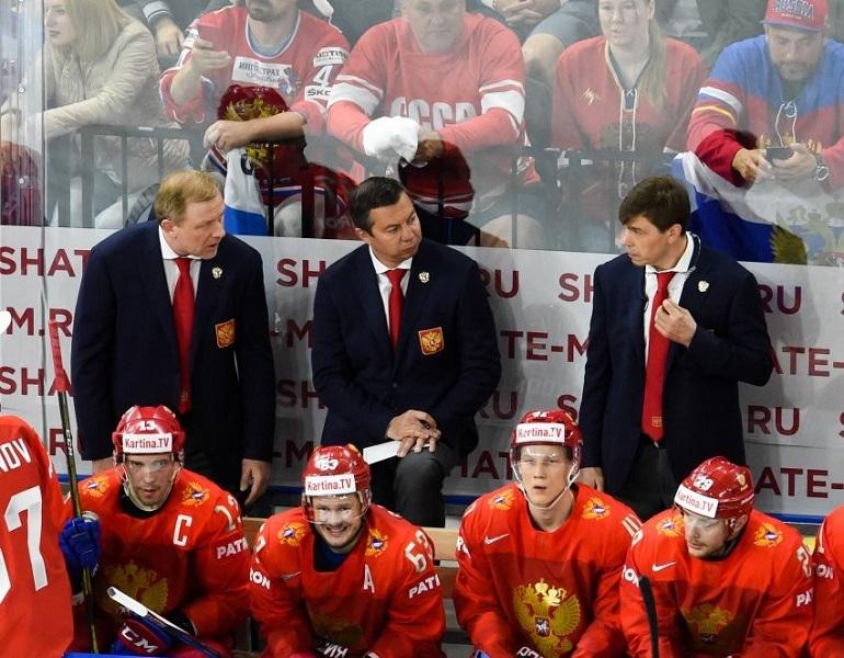 Илья Воробьев и сборная России