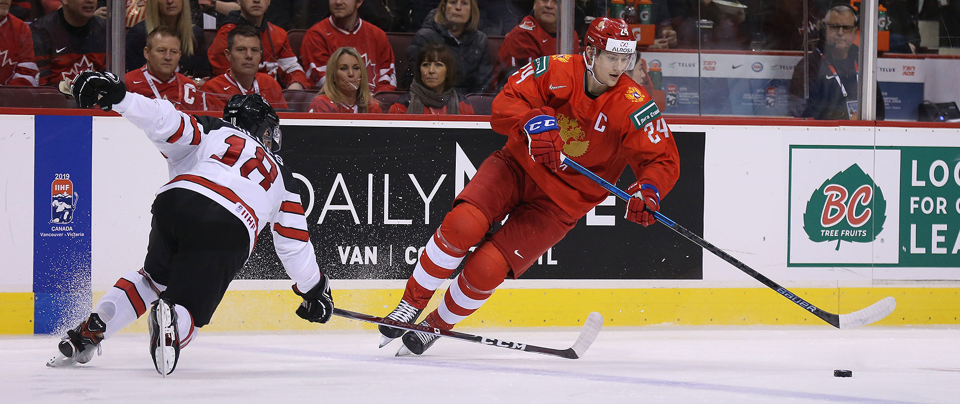 какое место занимает россия по хоккею